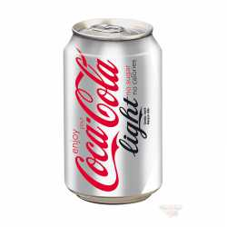 Coca-Cola Light can. x 12