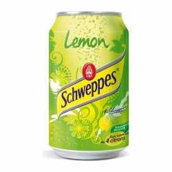 Schweppes Lemon can. x 6