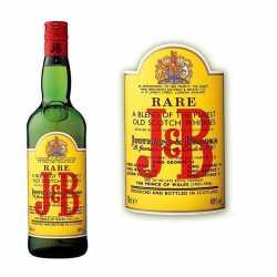 J&B Rare Whisky 40° 1L