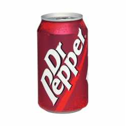Dr Pepper can. x 12