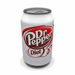 Dr Pepper Diet can. x 12