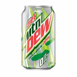 Mountain Dew Diet can