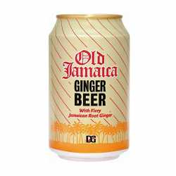 Jamaican Ginger Beer can. X 6