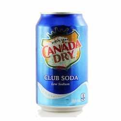 Canada Dry Club Soda x 6