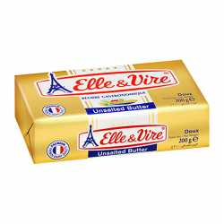 Unsalted French Butter Elle & Vire
