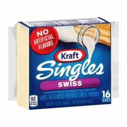 Kraft Singles  Swiss Cheese