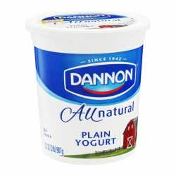 Dannon Plain Yogurt