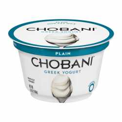 Chobani Greek Yogurt Plain