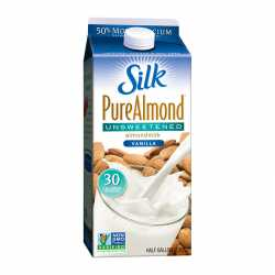 Silk Almond Milk Vanilla