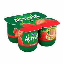 Activia Strawberry x 4