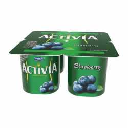 Activia Blueberry x 4