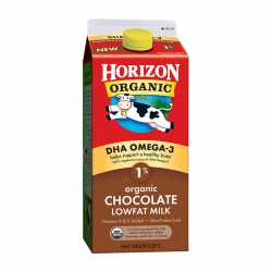 Horizon Organic Milk DHA Chocolate 1 %
