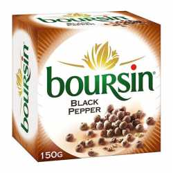 Boursin with Black Pepper