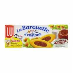 Lu Barquette 3 Chatons Chocolate 120 Gm