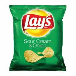 Lay's Potato Chips Sour Cream & Onion