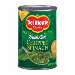 Del Monte Chopped Spinach