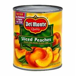 Del Monte Slided Peaches