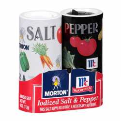 Mc Cormick Salt & Pepper