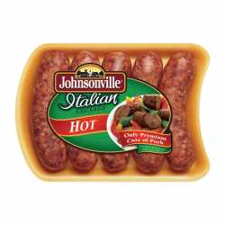 Johnsonville Italian Sausage Hot