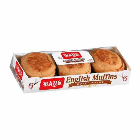 English Muffin Honey Wheat