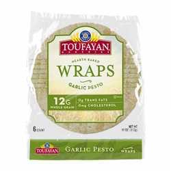 Toufayan Wraps Garlic