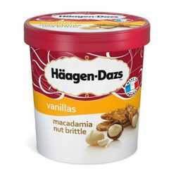 Häagen Dazs Macadamia Nut Brittle