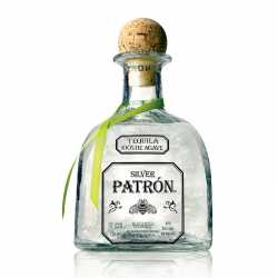 Silver Patron tequila 750 ML