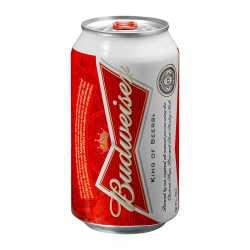 Budweiser can x 12
