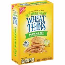 Nabisco Wheat Thin Reduced Fat