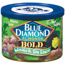 Blue Diamond Bold Wasabi and Soy Sauce