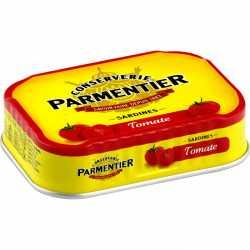 Parmentier Sardines with Tomato