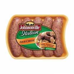 Johnsonville Italian Sausage 4 Cheese