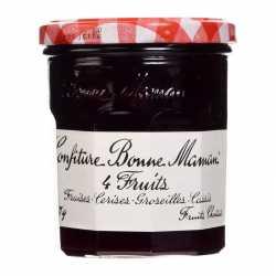 Bonne Maman 4 Red Fruit Jam 370 Gm