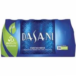 Dasani water 24 x 20 oz