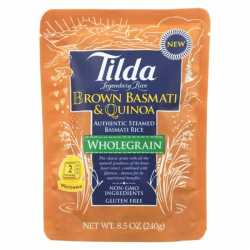 Tilda Brown Basmati & Quinoa Microwave