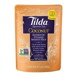 Tilda Basmati rice and Coconut Microwave