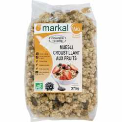 Markal Organic crunchy Mueli with Fruits