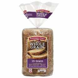 "Pepperidge Farm "" 100 % Whole Wheat"" 15 grain"