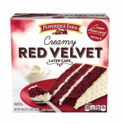 "Pepperidge Farm "" Creamy Red Velvet"""