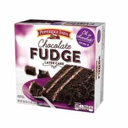"Pepperidge Farm "" Chocolat Fudge"""