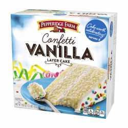 """Pepperidge Farm """" Confetti Vanilla"""""""