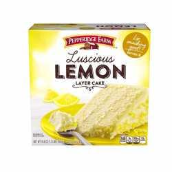 "Pepperidge Farm "" Luscious Lemon"""