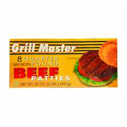 Grill Master Beef Patties