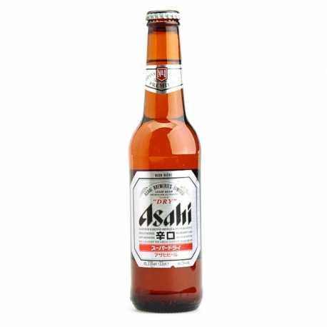"Asahi ""Super Dry"" 33 CL x 6"