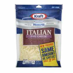 Kraft Italian five cheese...