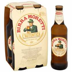 Beer Moretti 4 x 33 CL