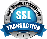 SSL 100 % Secure Transaction
